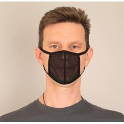 Maska maseczka czarna...