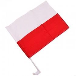 Flaga samochodowa Polska